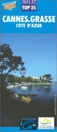 Cannes - Grasse Map