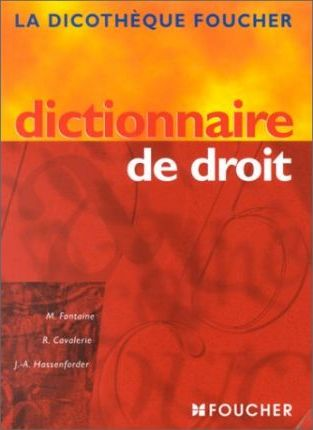 Dictionnaire Du Droit En Business Centre