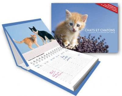 AGENDA-CALENDRIER CHATS ET CHATONS 2015