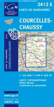Courcelles-Chaussy GPS
