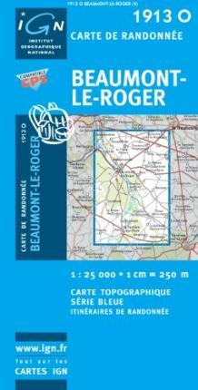 Beaumont-le-Roger GPS