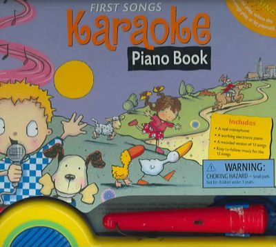 First Songs Karaoke Piano Book : Gardner Publishing