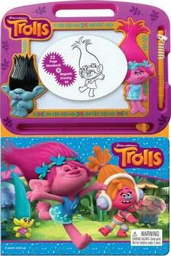 Trolls Magnetic Drawing