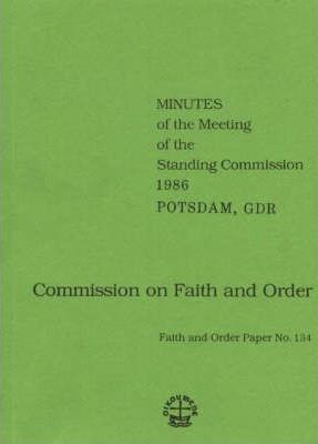 Commission on Faith and Order