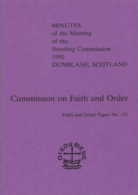 Minutes of the Meeting of the Faith and Order Standing Commission