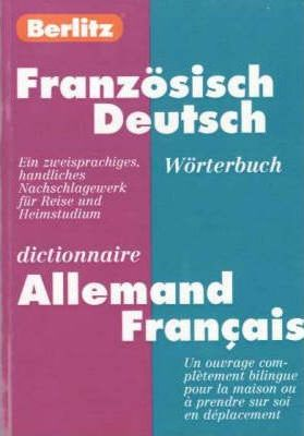 German-French Berlitz Bilingual Dictionary