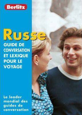 Berlitz Russian Phrase Book for French Speakers