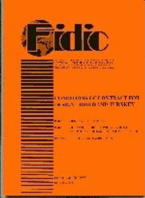 FIDIC Conditions of Contract for Design, Build and Turnkey: Orange
