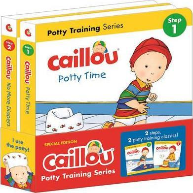 Caillou, Potty Training Series