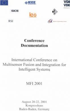 International Conference on Multisensor Fusion and Integration for Intelligent Systems