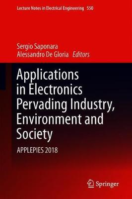 Applications in Electronics Pervading Industry, Environment and Society  APPLEPIES 2018