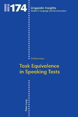 Task Equivalence in Speaking Tests: Investigating the Difficulty of Two Spoken Narrative Tasks