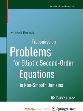 Transmission Problems for Elliptic Second-Order Equations in Non-Smooth Domains