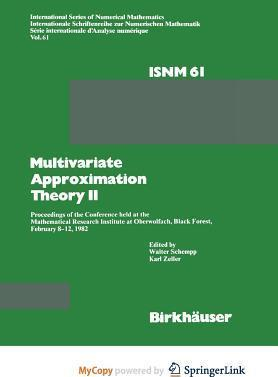 Multivariate Approximation Theory II