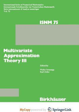 Multivariate Approximation Theory III