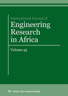 International Journal of Engineering Research in Africa Vol. 43