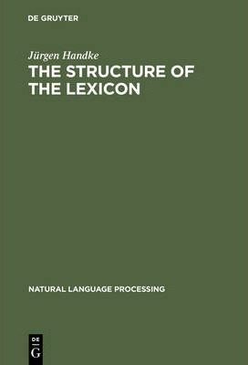 The Structure of the Lexicon: Human Versus Machine