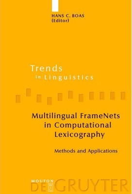 Multilingual FrameNets in Computational Lexicography