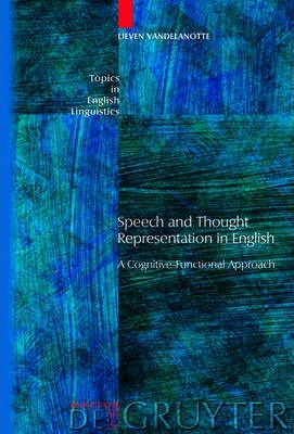 Speech and Thought Representation in English