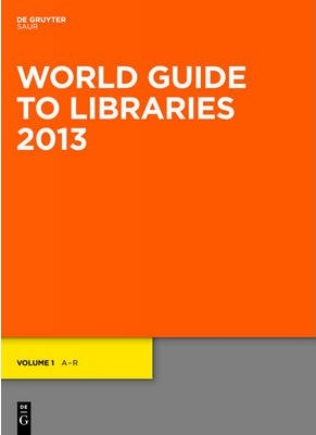 World Guide to Libraries 2013