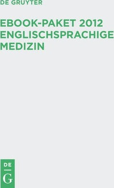 EBook-Paket 2012 Englischsprachige Medizin / EBook Package 2012 Medicine Titles in English