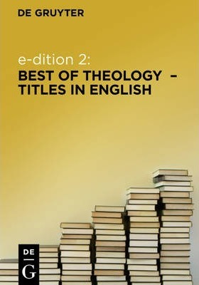 e-dition 2: Best of Theology Titles in English / englischsprachige Theologie (eBook Package / eBook-Paket)