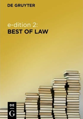 e-dition 2: Best of Law / Rechtswissenschaften (eBook Package / eBook-Paket)