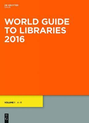 World Guide to Libraries 2016