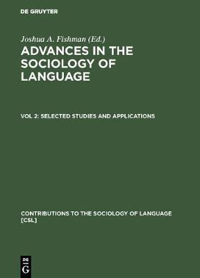 Selected Studies and Applications