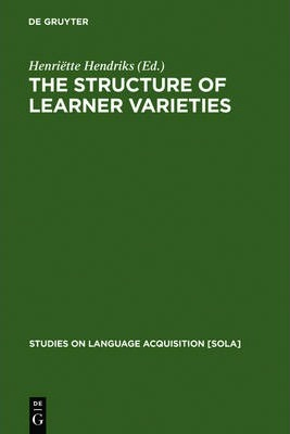 The Structure of Learner Varieties