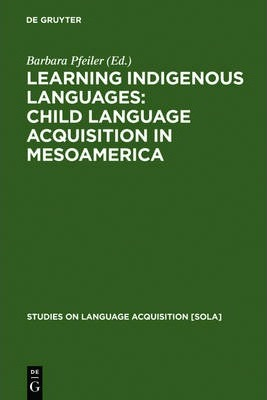 Learning Indigenous Languages: Child Language Acquisition in Mesoamerica