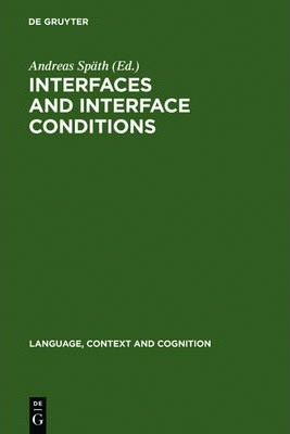 Interfaces and Interface Conditions