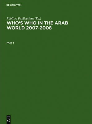 Who's Who in the Arab World 2007-2008