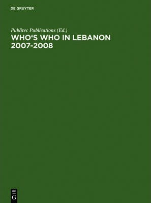 Who's Who in Lebanon 2007-2008