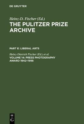 Press Photography Award 1942-1998