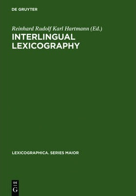 Interlingual Lexicography