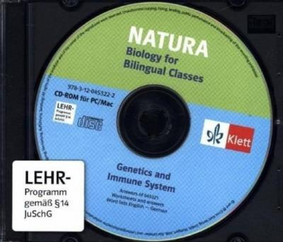 Natura - Biology for bilingual classes. Genetics and Immunity. Begleitsoftware