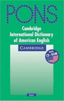 Cambridge Dictionary of American English (Klett Edition) Paperback and CD ROM Pack