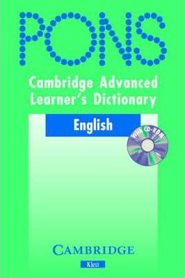 Cambridge Advanced Learner's Dictionary KLETT VERSION with CD-ROM