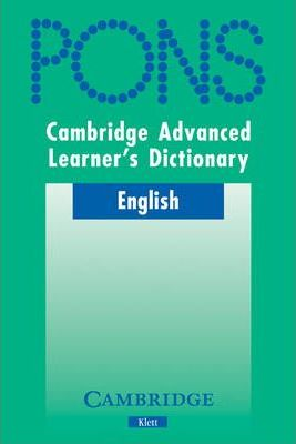 Cambridge Advanced Learner's Dictionary KLETT VERSION