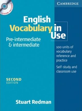 English Vocabulary in Use. Pre-intermediate and intermediate. Book and CD-ROM