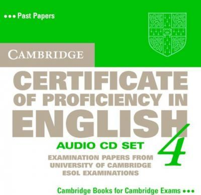 Cambridge Certificate of Proficiency in English 4. 2 CDs