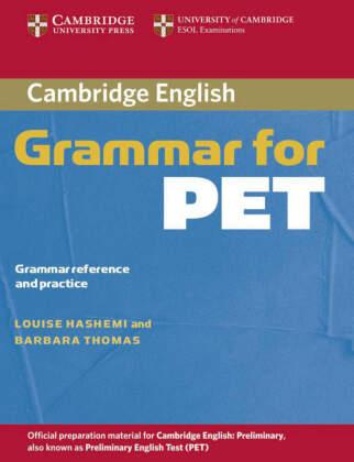 Cambridge Grammar For Pet With Answers Pdf