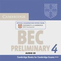 Cambridge BEC. Audio CD. Preliminary 4