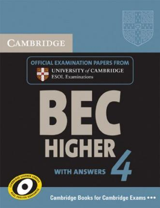 Cambridge BEC. Student's Book with answers. Higher 4
