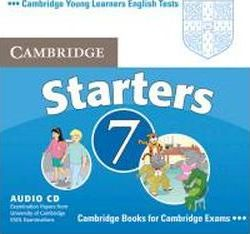 Cambridge Young Learners English Tests. Examination papers from the University of Cambridge Local Examinations Syndicate. Cambridge Starters 7.  Audio-CD
