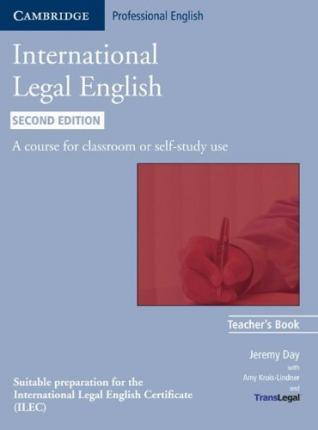 International Legal English - 2nd edition. Teacher's Book
