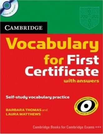 Cambridge Vocabulary for First Certificate