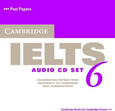 Cambridge IELTS 6. 2 CDs