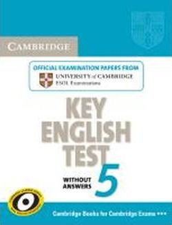 Cambridge Key English Test 5. Student's Book without answers